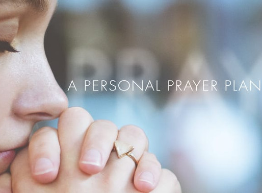 The Recipe for a Prayer Plan