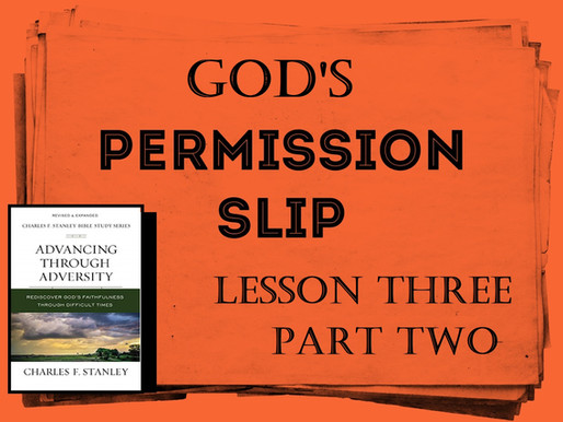 God May Give The Permission
