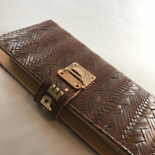 Brown Vegan Leather Wallet