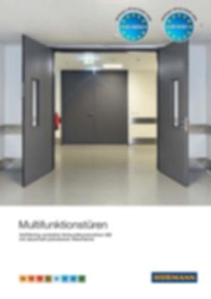 Prospekt Multifunktionstür Hörmann