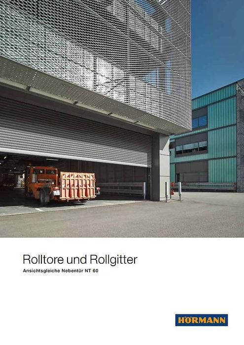 Prospekt Rolltore Rollgitte Hörmann