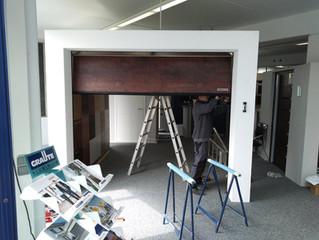 Neugestaltung der Ausstellung