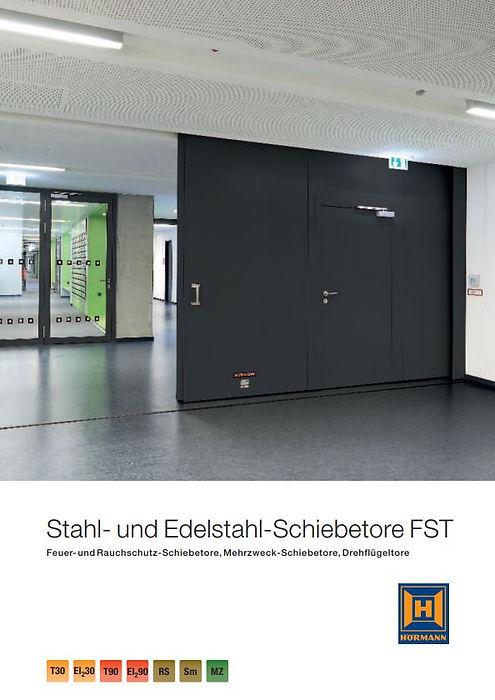 Stahl- und Edelstahl-Schiebetore FST Hörmann