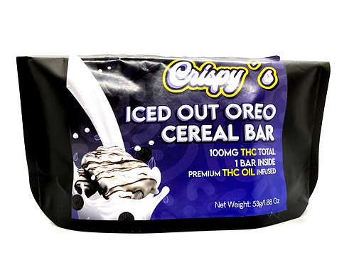 ICED OUT OREO CEREAL BAR