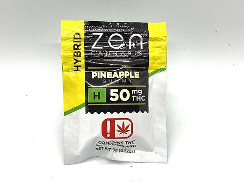 Zen Cannabis - Pineapple Gummy (Hybrid)