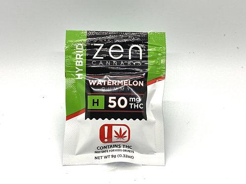 Zen Cannabis - Watermelon Gummy (Hybrid)