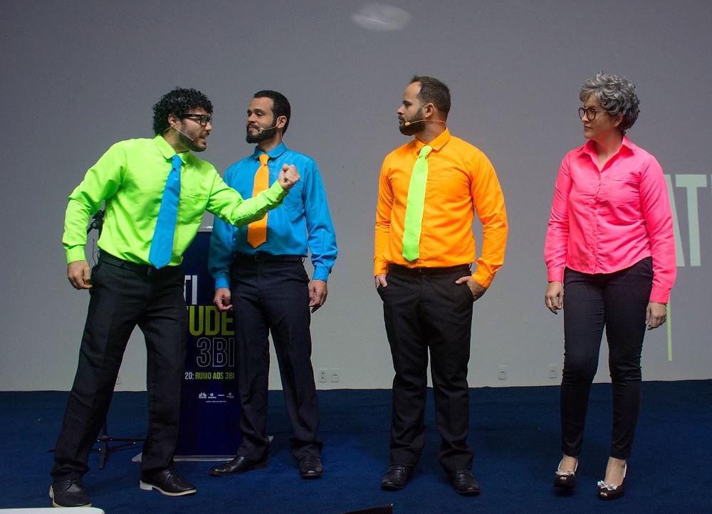 Convenção Tricard - Cia. Traquitana Teatro Empresarial