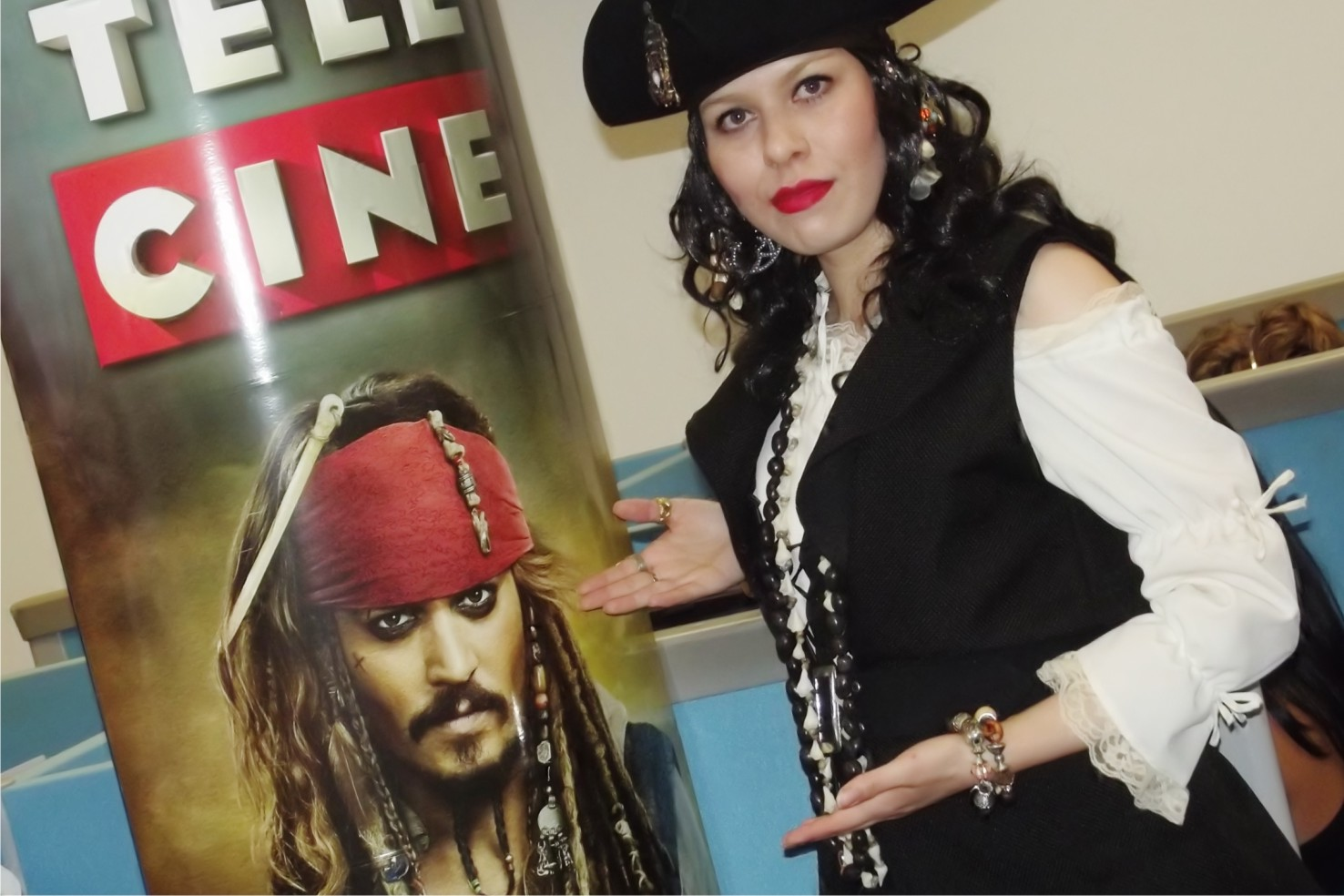 Piratas do Caribe Telecine