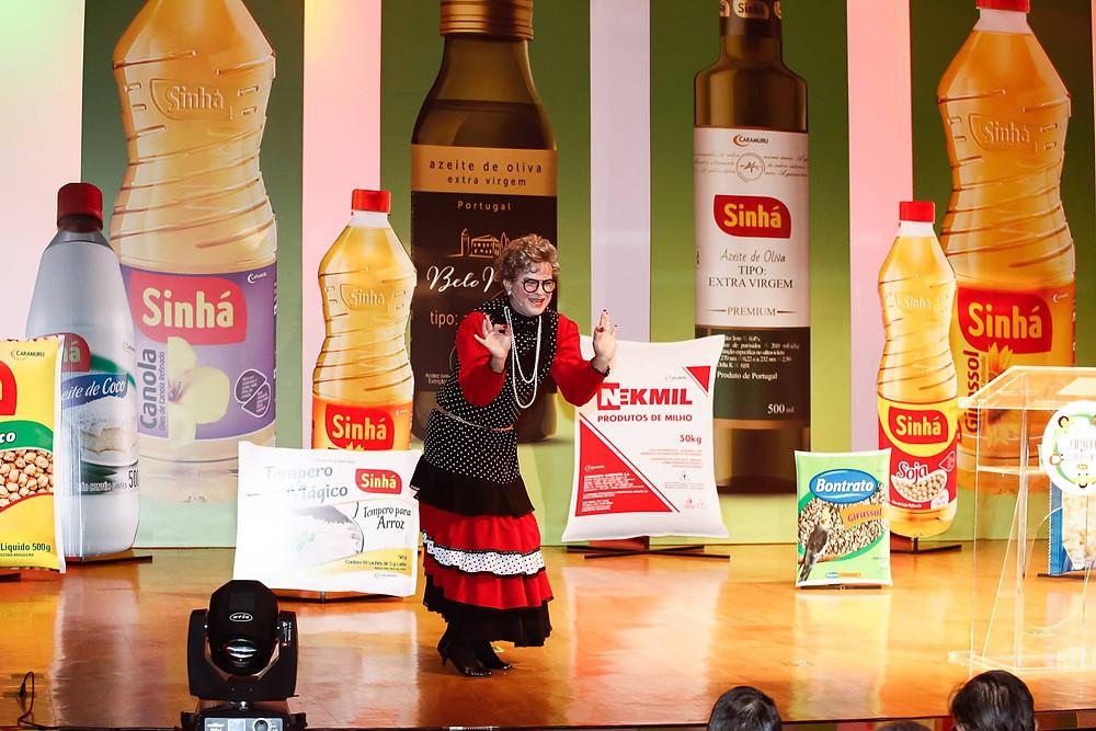 Fofó Fufu na abertura da Convenção Caramuru Sinhá