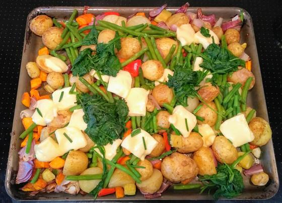 Get those veg in!