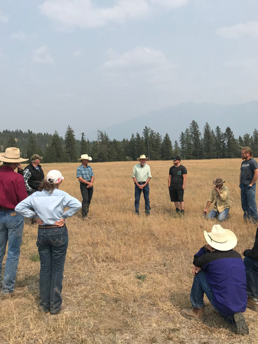 Out on the Range - a talk about invasives and rangeland