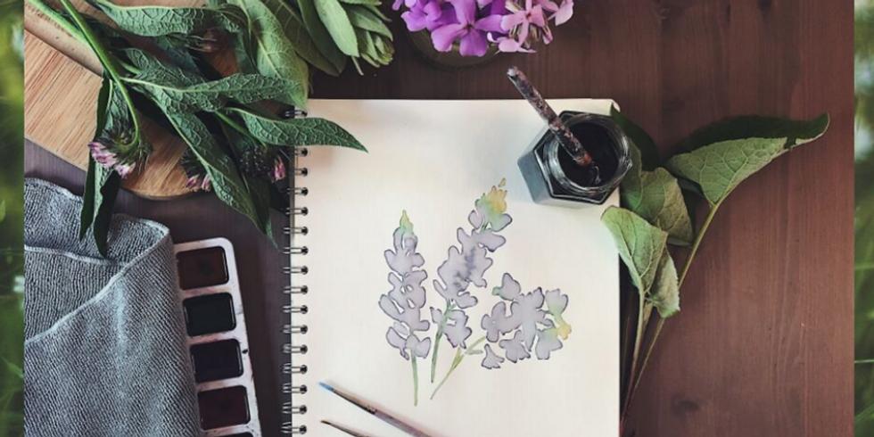 Watercolours & Weeds Workshop