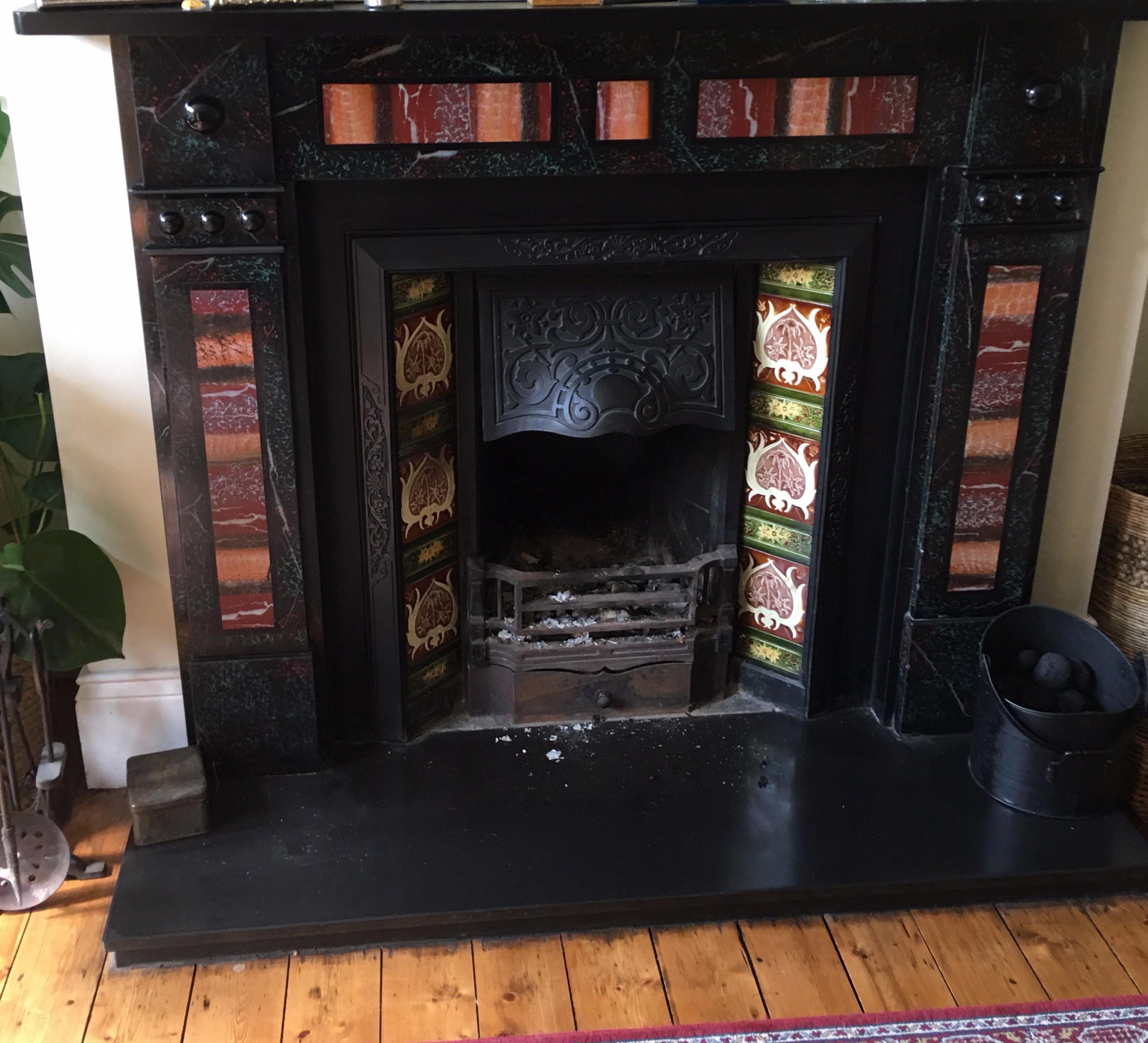 Chimney Sweep - Open Fire