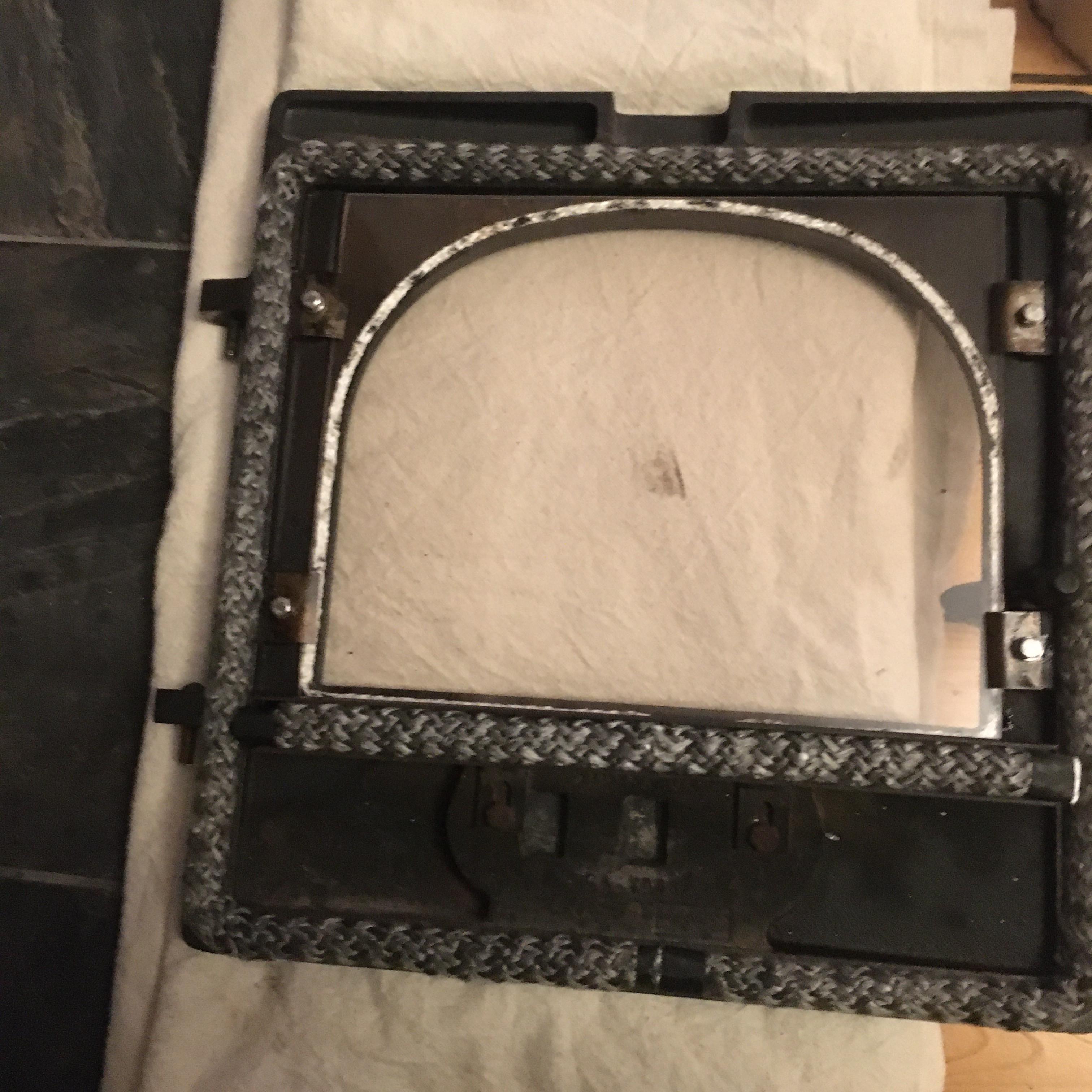 Stove Door Rope Seal inc Installation
