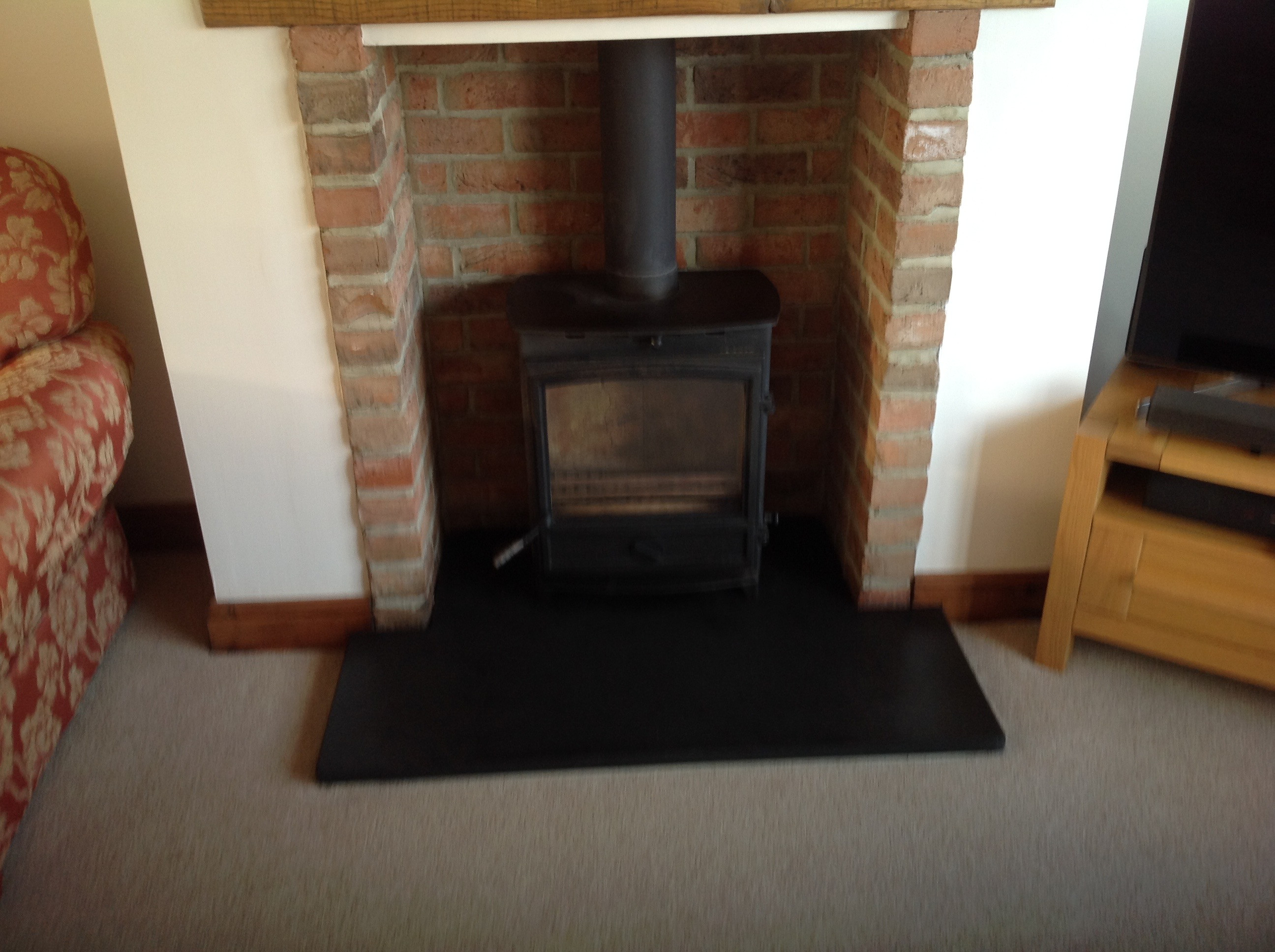 Chimney Sweep - Stove with liner