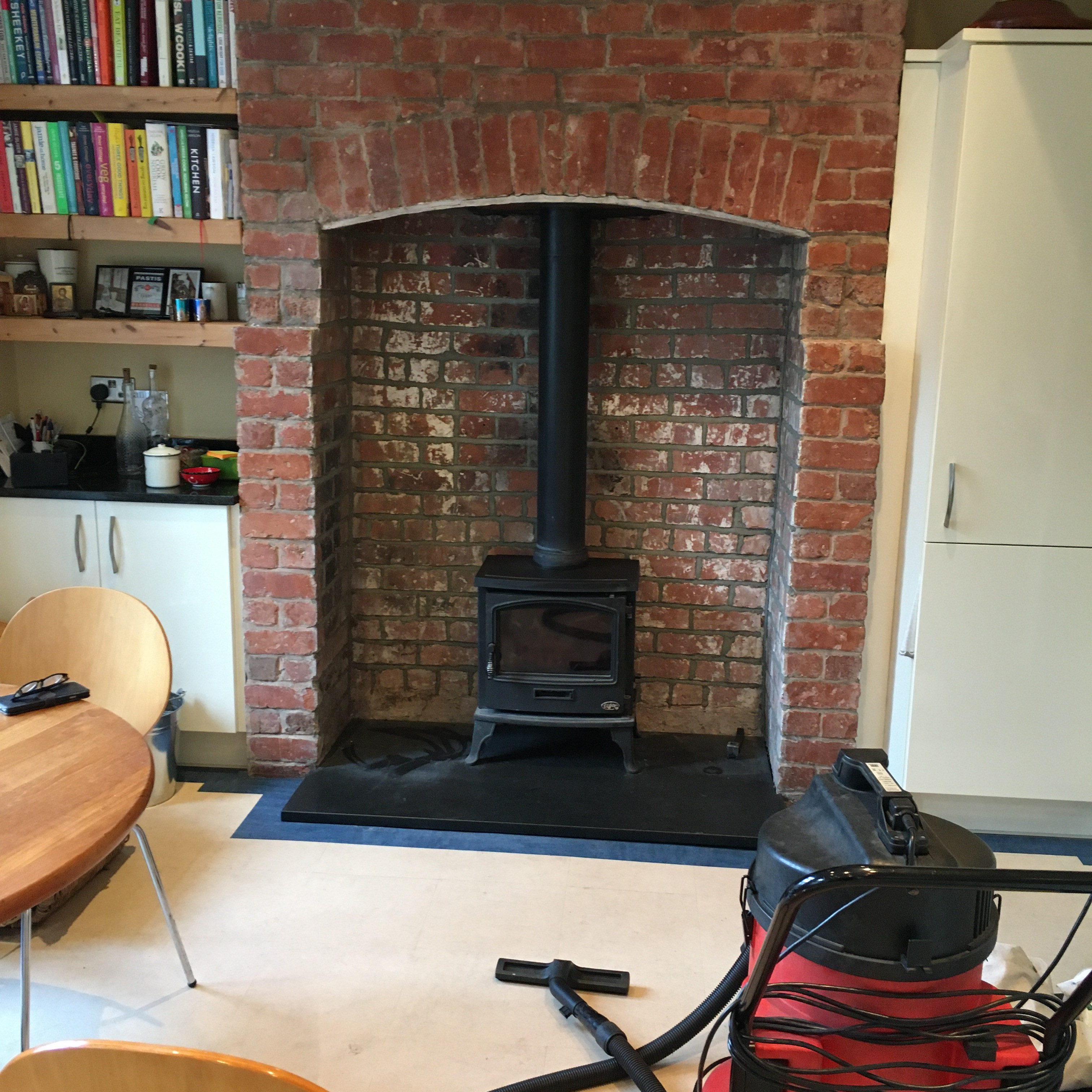 Stove without Liner - Customer Offer