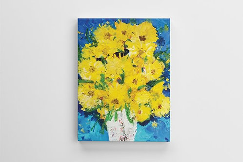 Marianna Abutalipova Yellow Flowers Design