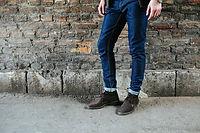 男性ファッションジーンズ