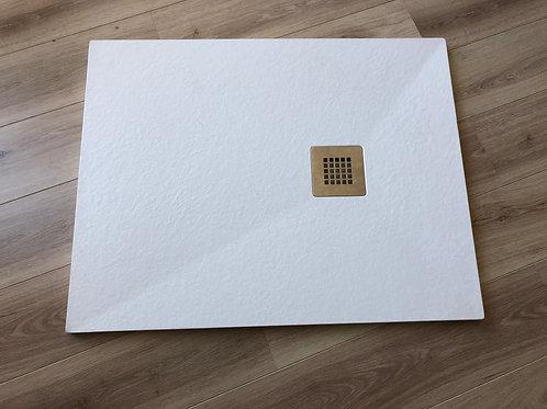 Piatto doccia simil pietra bianco CM 70X100