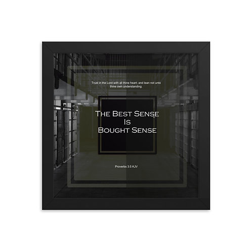 Whispers Of WISDOMS | No.062 | The Best Sense Is Bought Sense - gallery prints