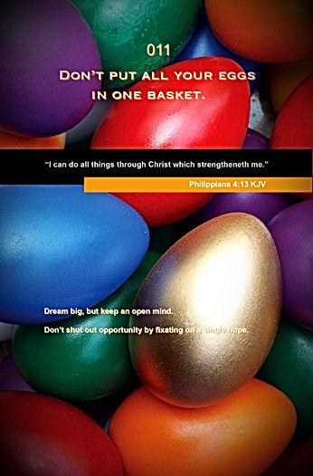 Wisdoms Printable - Eggs In Basket