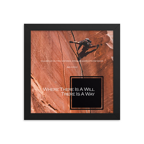 Whispers Of WISDOMS | No.045 | Where There Is A Will There Is A Way - prints