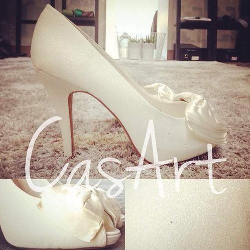 Sapato Cinderela Pérola