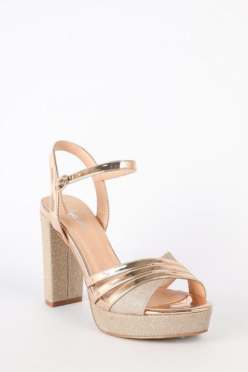Sapato ref.123Rose Gold