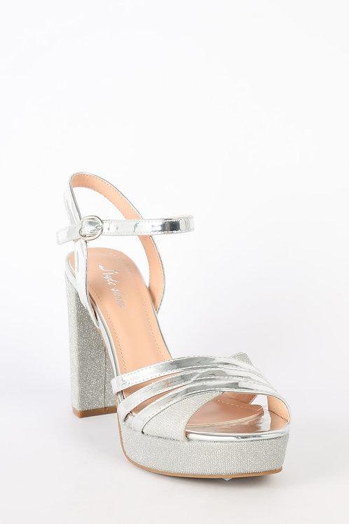 Sapato ref.123 Prata