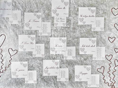 Placard I Love You