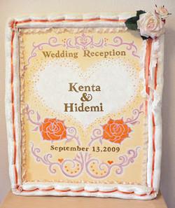 WEDDING BORD