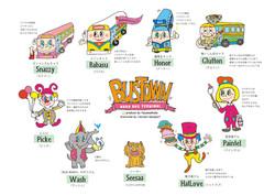 BUSTOWN_キャラクター