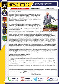 Newsletter Covid-19 Edition 7 17th July