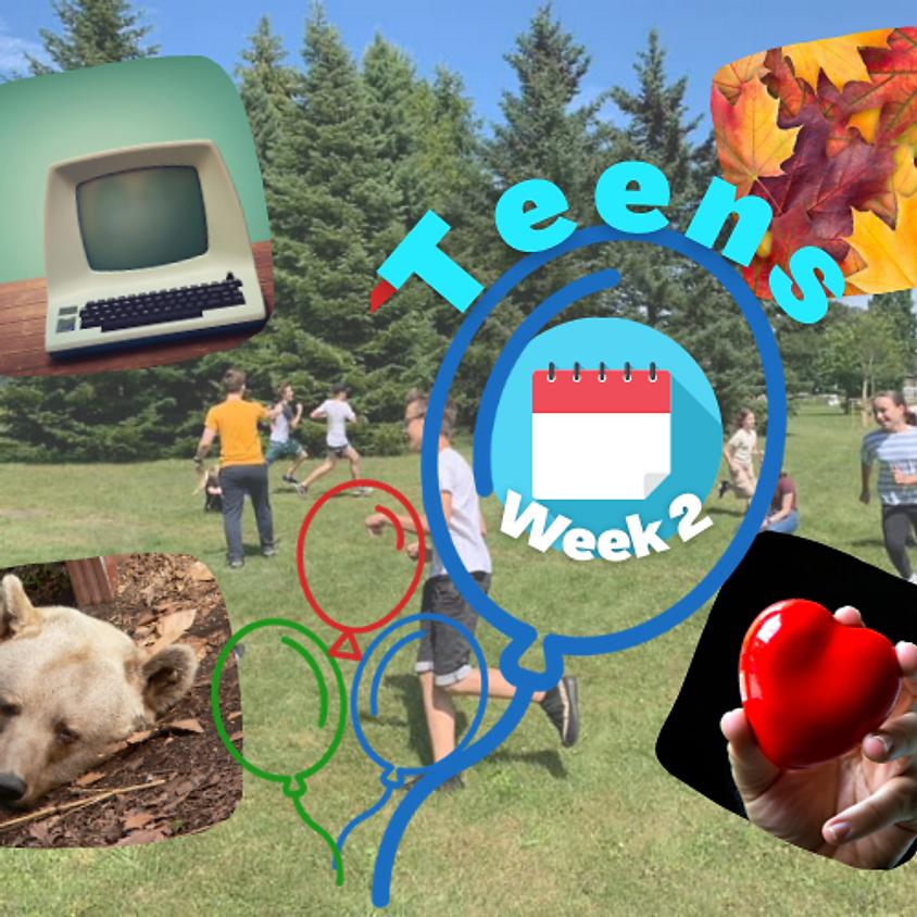 Week 2 Teens (12-15 gadus veciem bērniem)