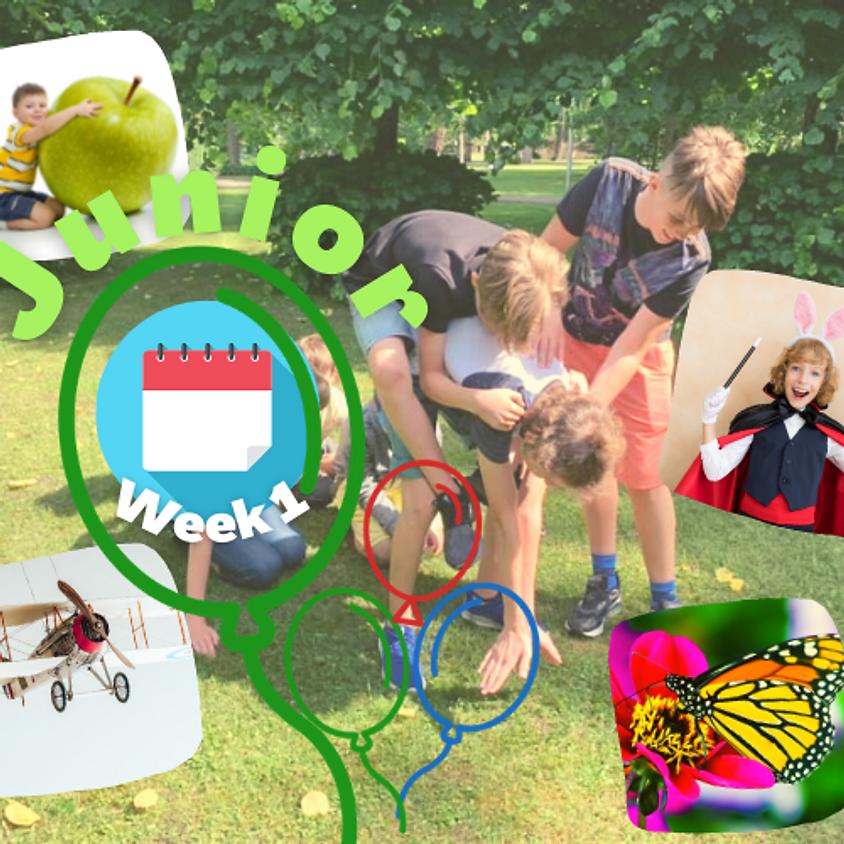 Week 1 Junior (7-11 gadus veciem bērniem)