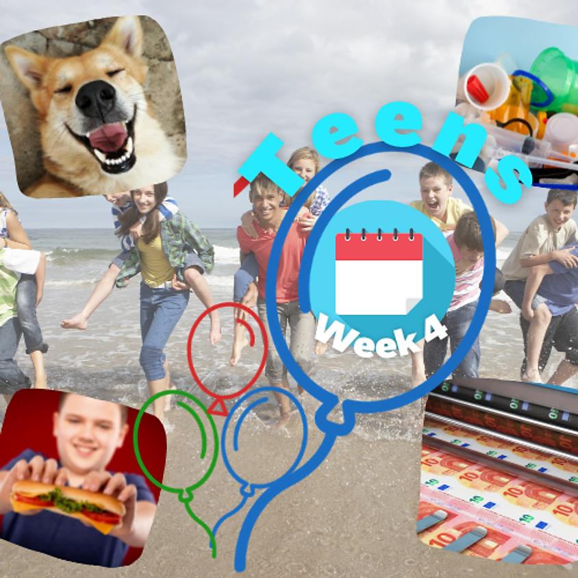 Week 4 Teens (12-15 gadus veciem bērniem)