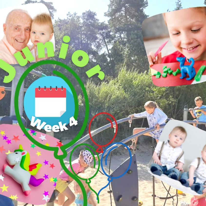 Week 4 Junior (7-11 gadus veciem bērniem)