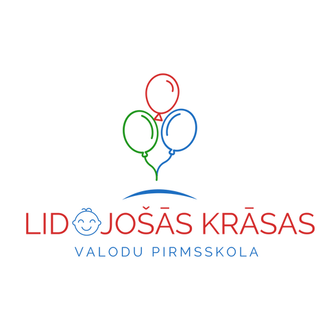 Lidojošās krāsas valodu pirmsskola logo