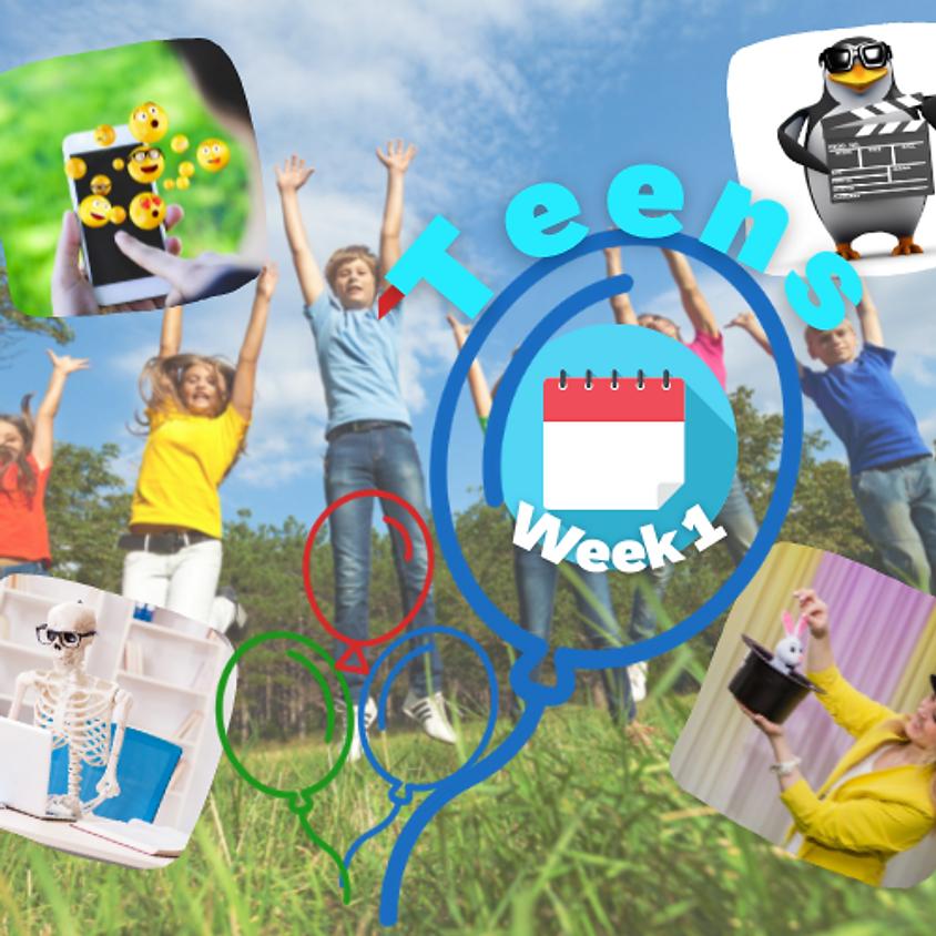 Week 1 Teens (12-15 gadus veciem bērniem)