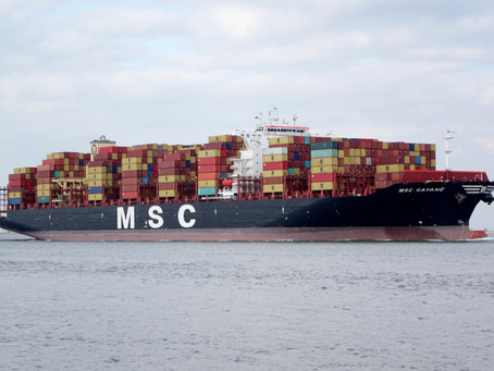 Feds Seize Massive Cargo Ship that Smuggled Cocaine