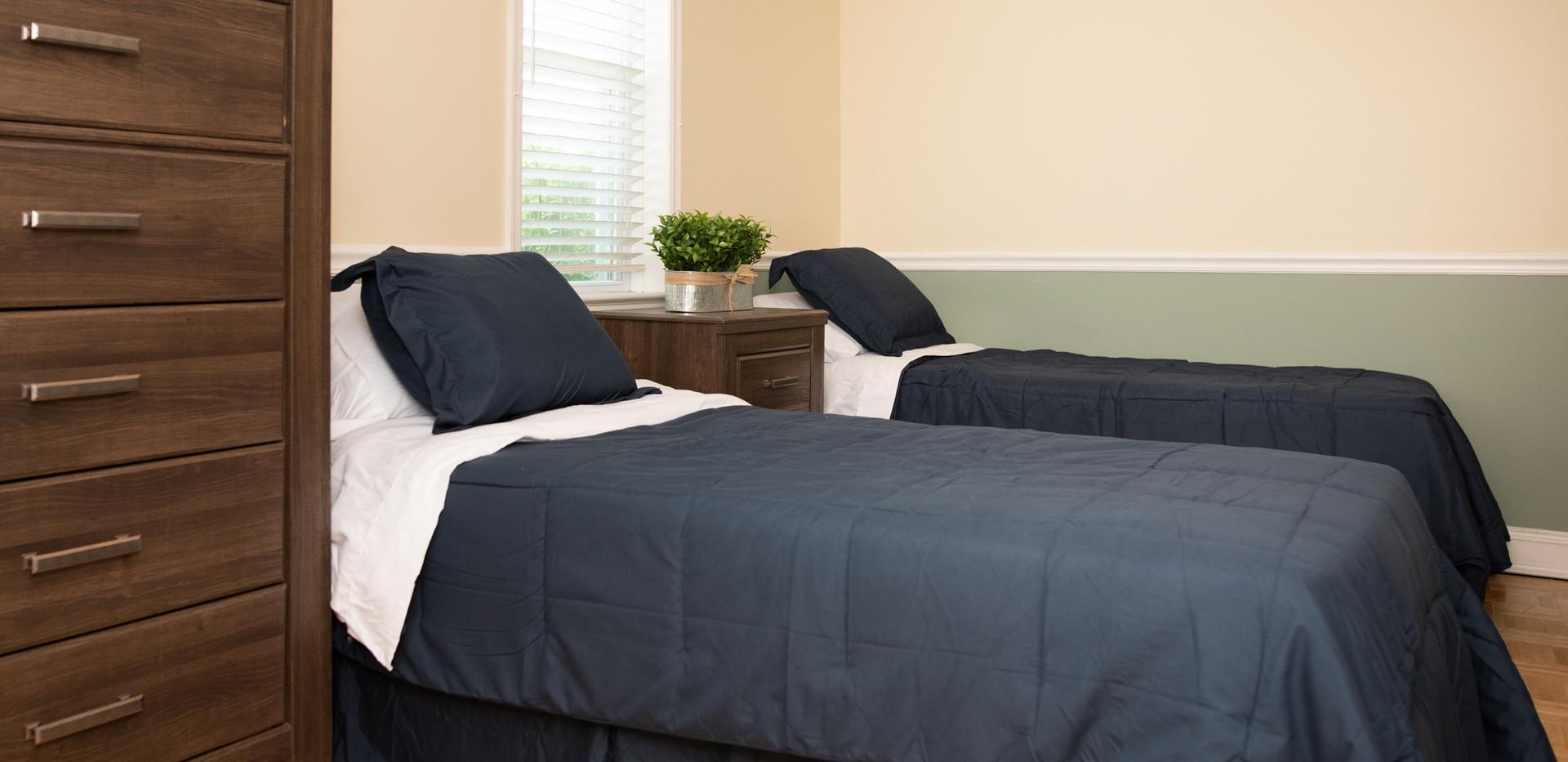 Woodbury Sober Living Bedroom