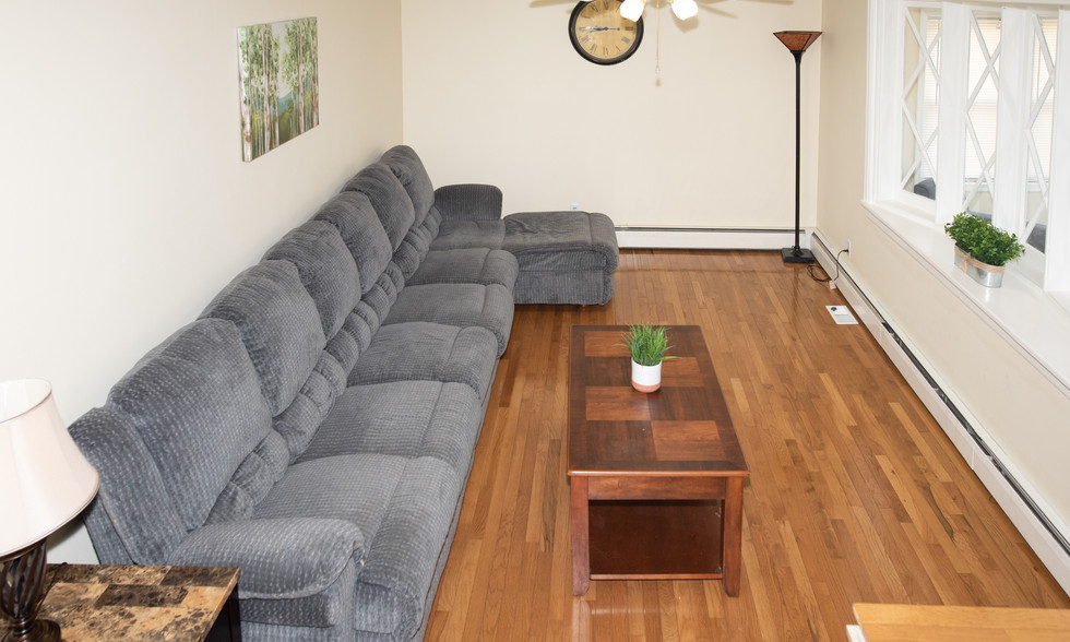Woodbury Recovery Residence Living Room
