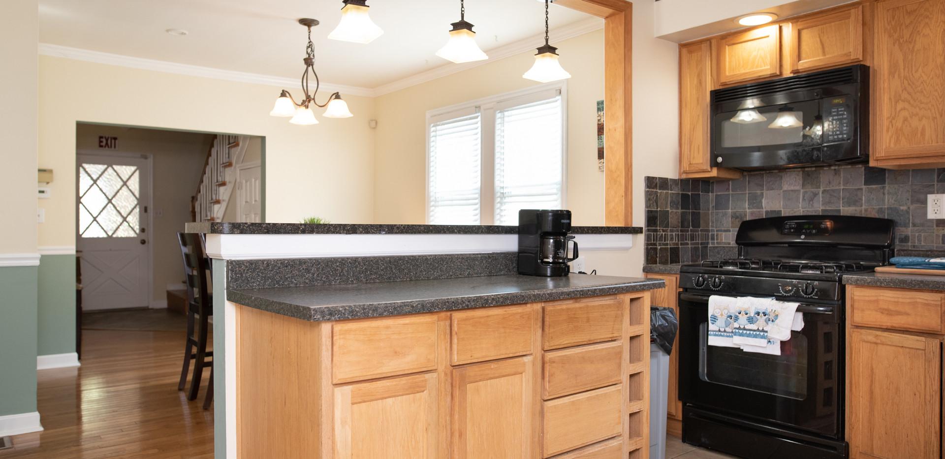 Woodbury Sober Living Kitchen