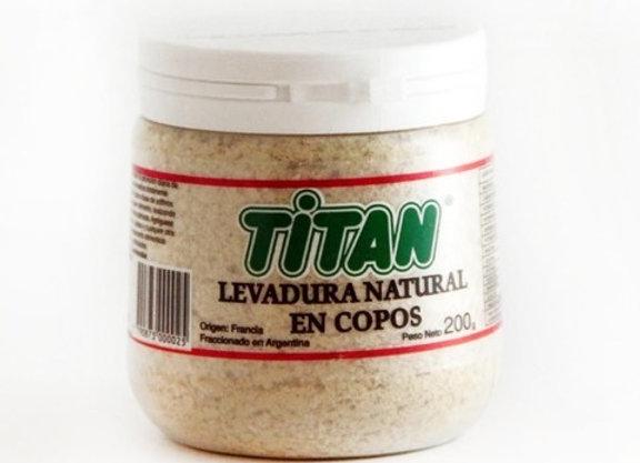 Levadura en Copos Titan