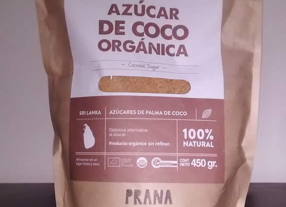 Azúcar de coco órganica