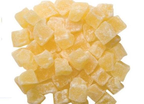 Anana en cubos glacé