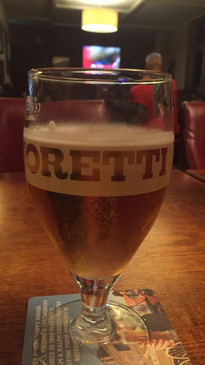 Beverage before the Smiths Arms gig