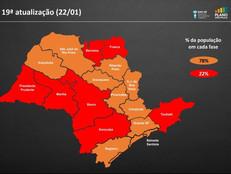 Fase vermelha do Plano São Paulo: clube estará fechado até o dia 07.