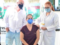 Começa vacinação em Pinda.