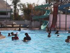 Diretoria reforça as normas de proteção e prevenção no Parque Aquático.
